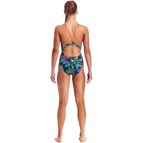 Funkita Diamond Back One Piece Swimsuit Girls Tropic Tag
